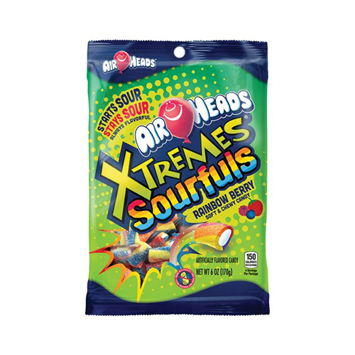 Image of   Airheads Xtremes Sourfuls Rainbow Berry