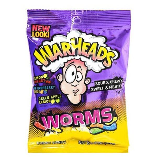 Warheads worms pose
