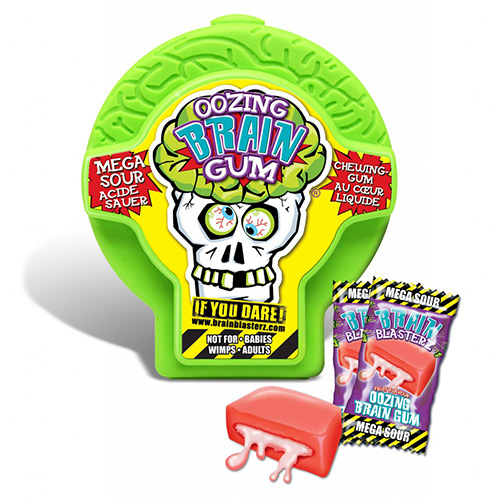 Image of Brain Blasterz Oozing Gum Container
