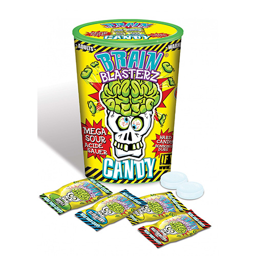 Image of Brain Blasterz Sour Candy Container