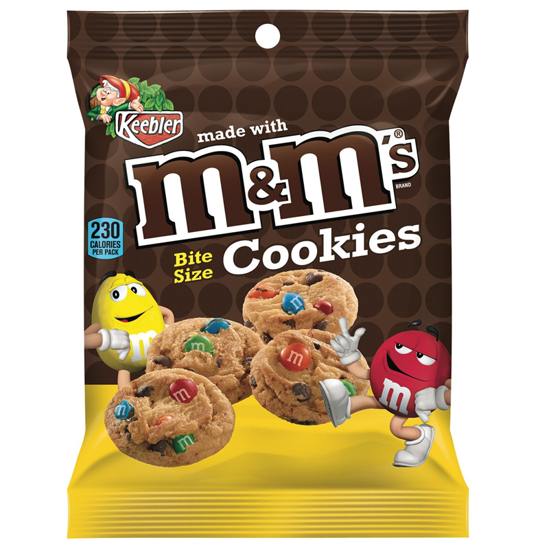 Image of M&Ms Bite Size Cookies