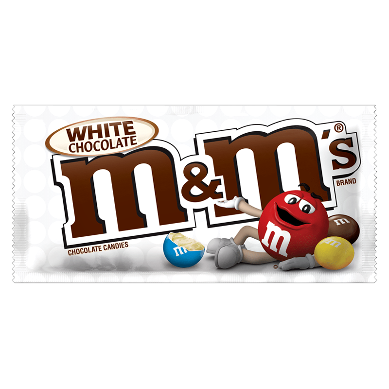 Image of M&Ms White Chocolate Share Size
