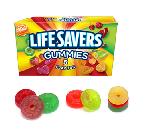 Image of   5 Flavor Life Savers Gummies