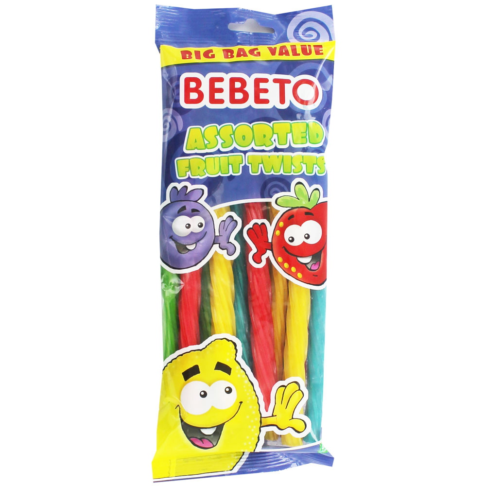 Image of Bebeto - Assorted Fruit Twists