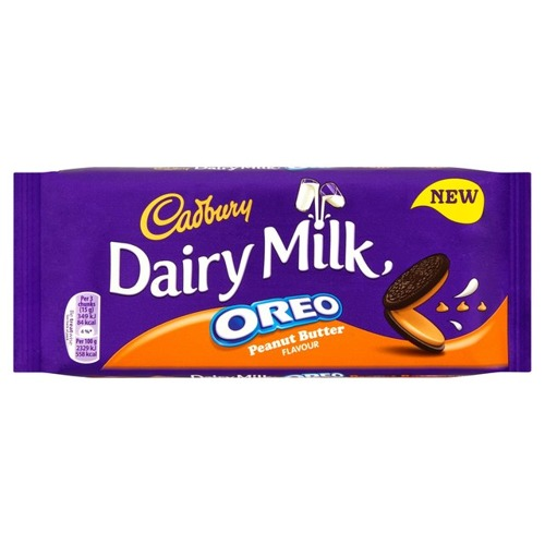 Image of   Cadbury Dairy Milk - Oreo Peanut Butter