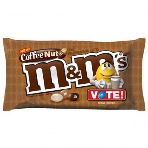 Image of M&Ms Coffee Nut Share Size