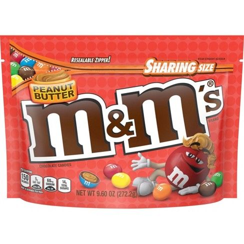 Image of M&Ms Peanut Butter Sharing Size
