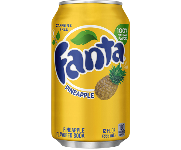 Image of   Fanta Pineapple