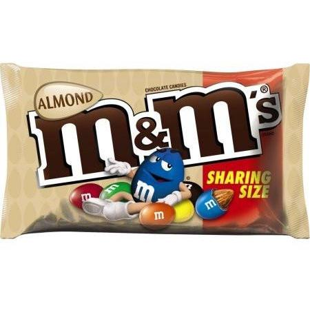 Image of M&Ms Almond