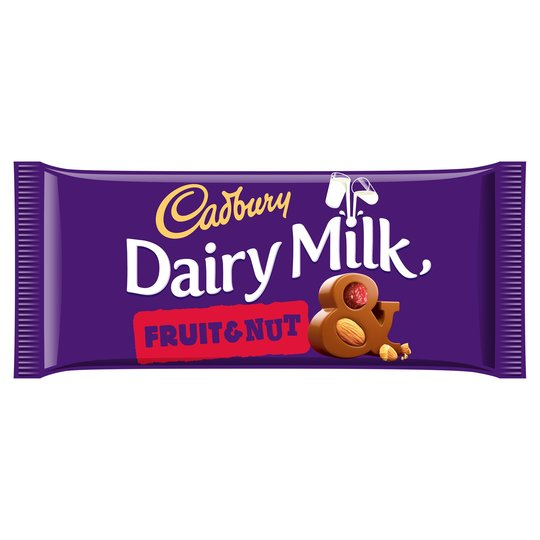 Image of Cadbury - Dairy Milk Fruit & Nut