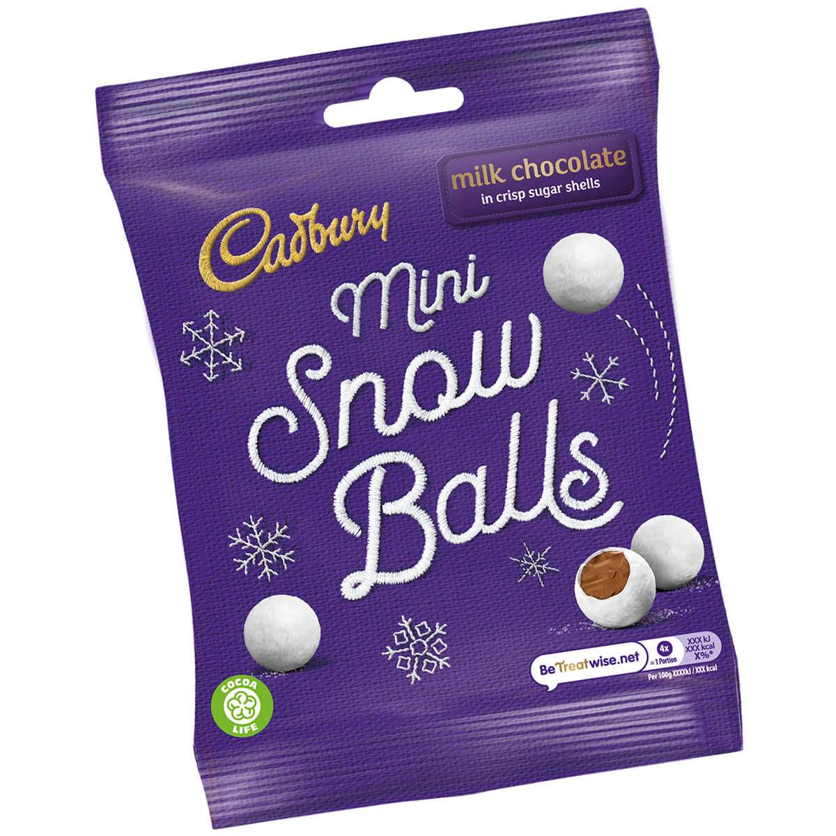 Image of Cadbury Mini Snow Balls