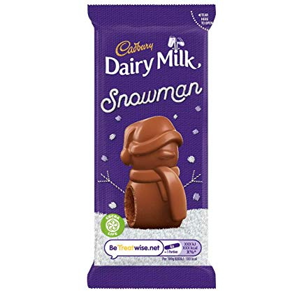 Image of   Cadbury Snowman Chocolate Mousse