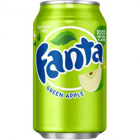 Image of   Fanta Green Apple