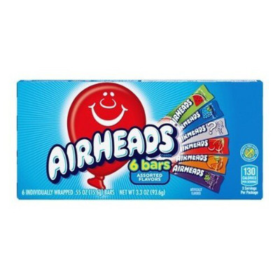 Image of   Airheads 6 Bars Pack